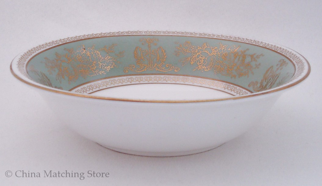 Wedgwood - Gold Columbia - Sage Green
