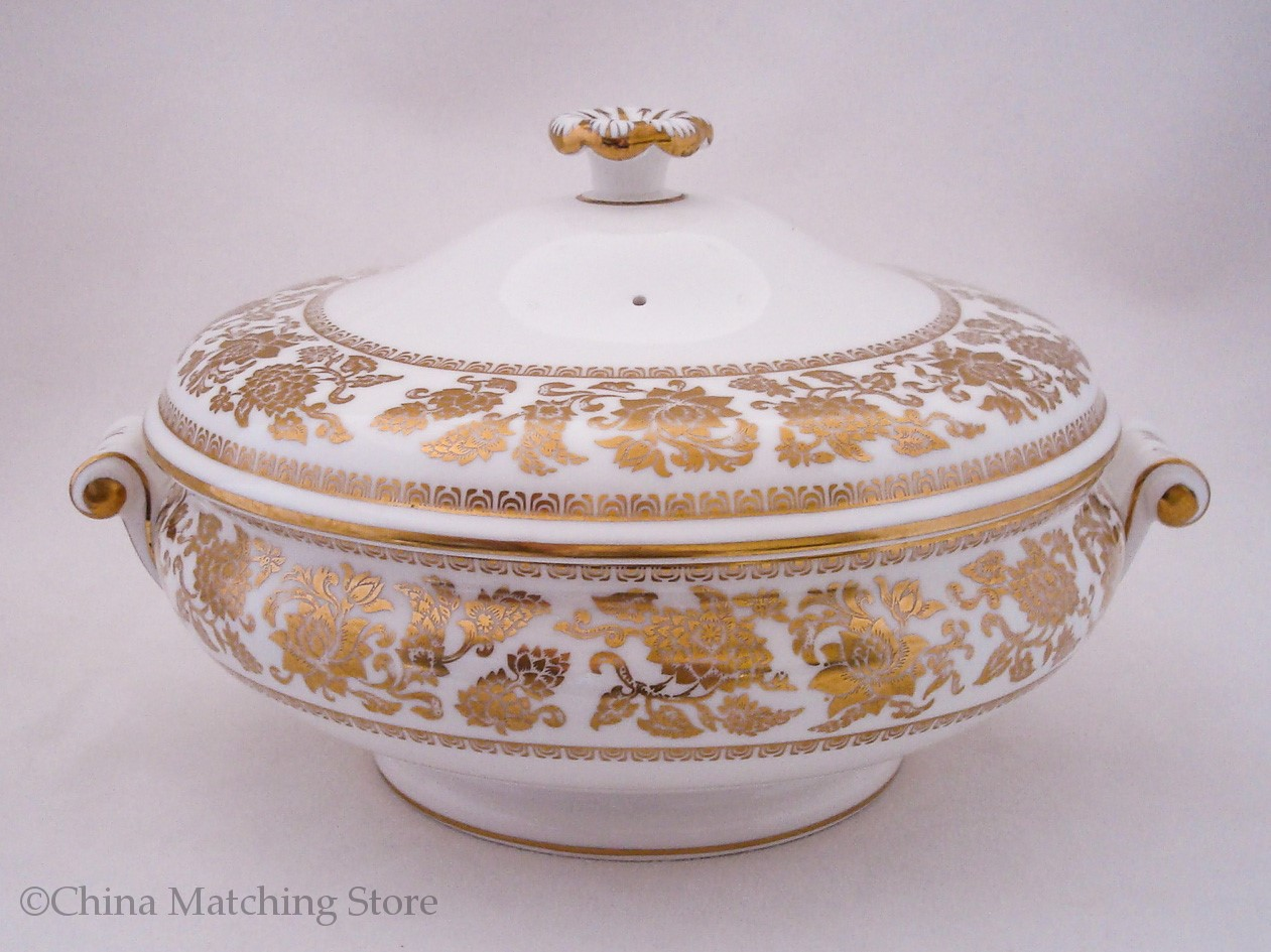 Wedgwood - Gold Damask