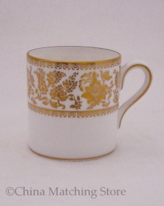 Gold Damask - Espresso Cup