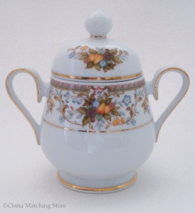 Harvesting - Lidded Sugar Bowl