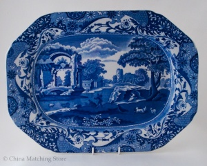 Italian - Old Back Stamp - Platter