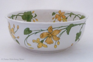 Geranium - Serving Bowl