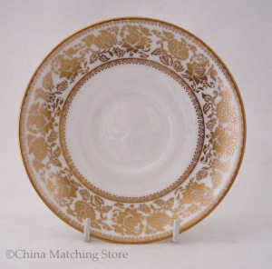 Gold Damask - Tea Saucer