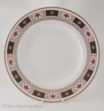 Derby Border - Dinner Plate