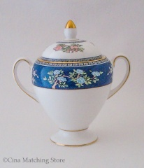 Blue Siam - Lidded Sugar Bowl