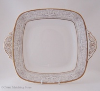 Naples - Square Bread and Butter Plate - (Eared)